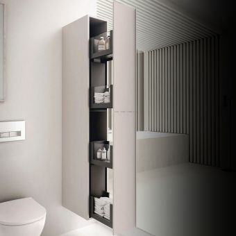 Geberit Acanto 173cm Tall Cabinet with Pull-out Storage