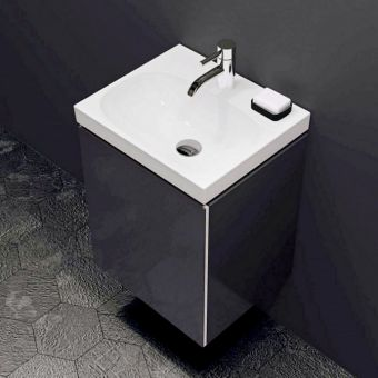 Geberit Acanto Wall Hung Vanity Unit with One Door