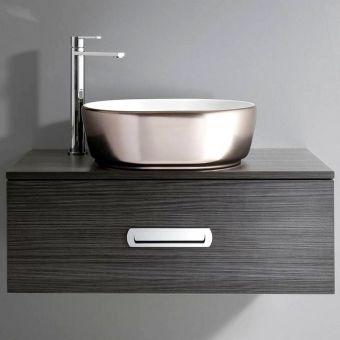 Bauhaus Pearl Countertop Basin