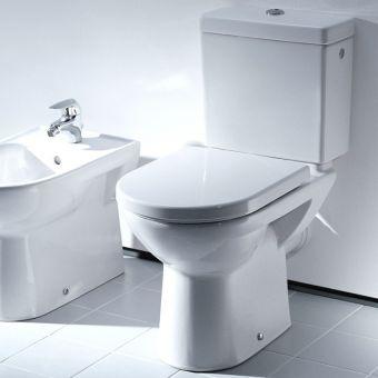 Laufen PRO Close Coupled WC Suite (Open Back) - 24956WH