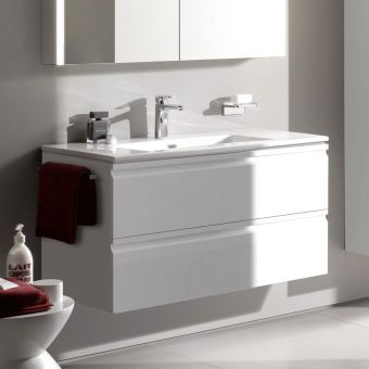 Laufen Pro S Double Drawer Vanity Unit & Slim Basin