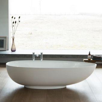 Clearwater Teardrop Petite Clearstone Freestanding Bath