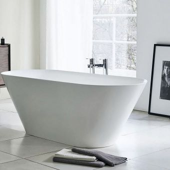 Clearwater Sontuoso Freestanding Clearstone Bath