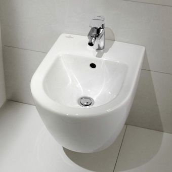V&B Subway 2.0 Compact Wall Hung Bidet