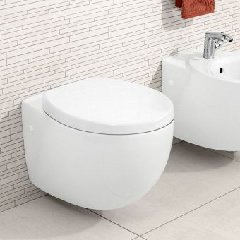 Villeroy and Boch Aveo New Generation Wall Hung WC - 661210R1