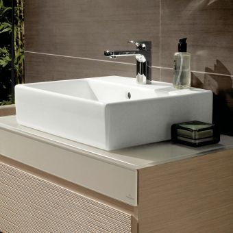 V & B Memento 500mm Surface Mounted Furniture Washbasin