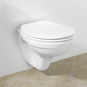 V And B Omnia Classic Wall Mounted Toilet