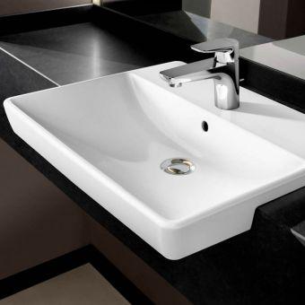 Villeroy & Boch Avento Slimline Semi-recessed Washbasin