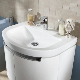 V&B Subway 2.0 Curved Countertop Washbasin