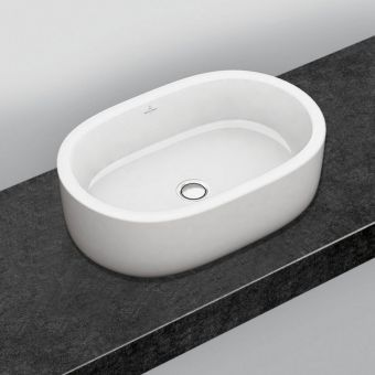 Villeroy and Boch Architectura Stadium Surface Mounted Washbasin
