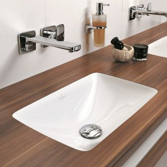 Villeroy and Boch Loop & Friends Rectangle Undercounter Basin