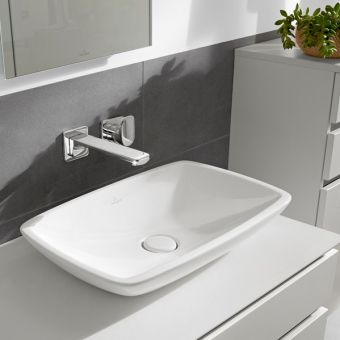 V&B Loop & Friends Rectangle Surface-Mounted Basin
