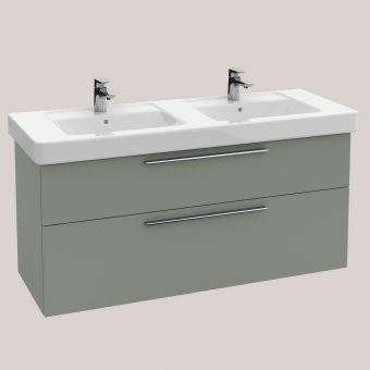 Villeroy and Boch Soho 2 (Was Subway) Double Vanity Washbasin Unit