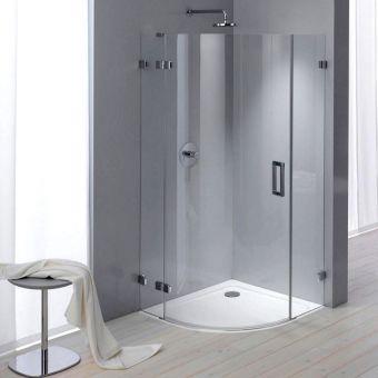 Kaldewei Arrondo Quadrant Steel Shower Tray - 687744510999