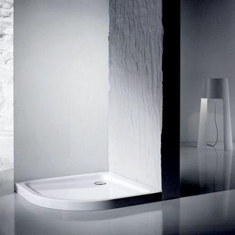 Kaldewei Zirkon Quadrant Steel Shower Tray - 687744510999