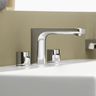 Villeroy and Boch Cult Three Hole Basin Mixer Tap
