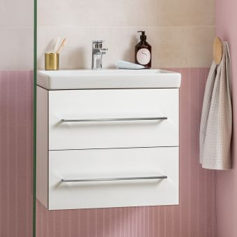 Villeroy and Boch Avento Two Drawer Vanity Unit & Basin