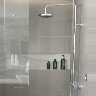 Villeroy and Boch Cult Thermostatic Shower Kit