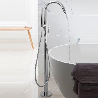 Crosswater Design Freestanding Bath Shower Mixer
