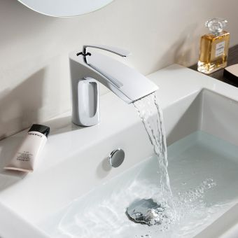 Crosswater Essence Mini Basin Monobloc