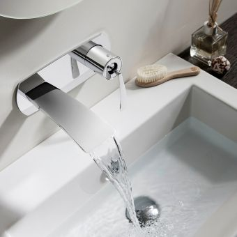 Crosswater Essence Wall Mounted Basin Mixer
