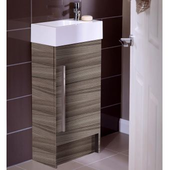 Noble Modular 400mm Floorstanding Cloakroom Unit