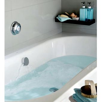Aqualisa Quartz Smart Bath Filler with Digital Control