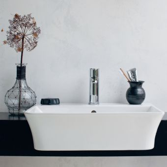 Britton Fine Semi-Recessed Basin