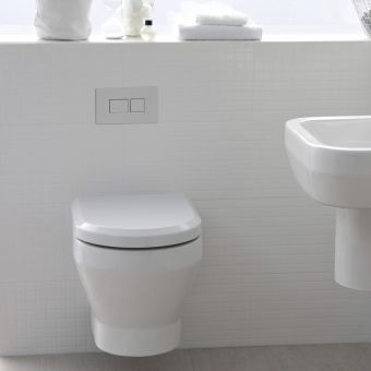 Britton Curve Wall Hung Toilet