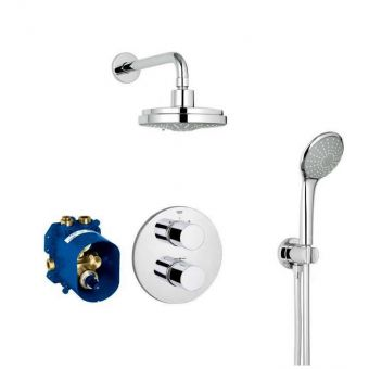 Grohe Grohtherm 3000 Cosmopolitan Thermostatic Perfect Shower Set