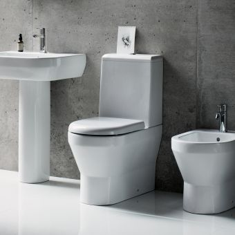 Britton Curve Close Coupled Toilet
