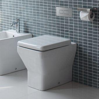 Britton Cube Floor Standing Toilet