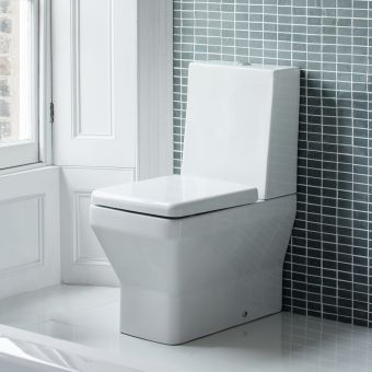 Britton Cube Close Coupled Toilet