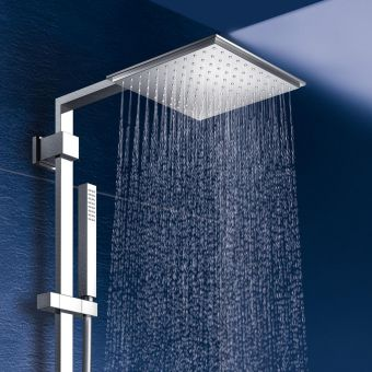 Grohe Euphoria Cube XXL 230 Shower System with Thermostatic Mixer