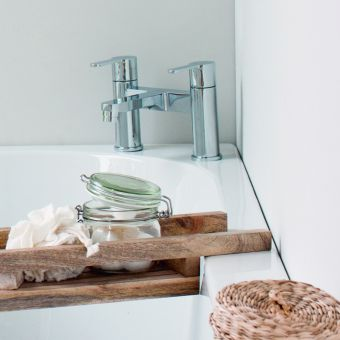 Britton Crystal Bath Mixer Tap