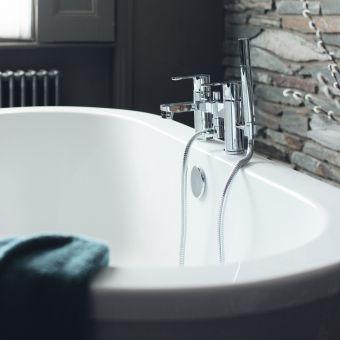 Cleargreen Nouveau Petite Compact Freestanding Bath