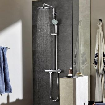 Grohe Euphoria XXL Shower System 210 with Thermostatic Valve