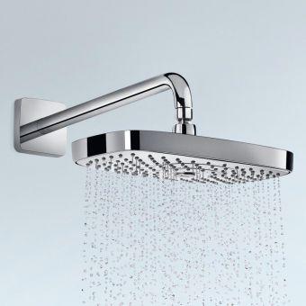 hansgrohe raindance select e 300 2jet wall mounted overhead shower