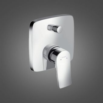 Hansgrohe Metris Concealed Single Lever Bath Mixer Tap