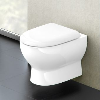 Britton Compact Wall Hung Toilet
