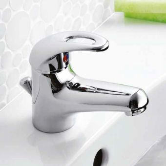Pegler Izzi Monobloc Basin Mixer Tap, with waste