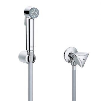 Grohe Tempesta-F Trigger Spray 30 with Wall Holder and Angle Valve