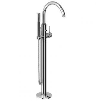 Grohe Atrio Floorstanding Bath Mixer Tap with Handshower - 32653002