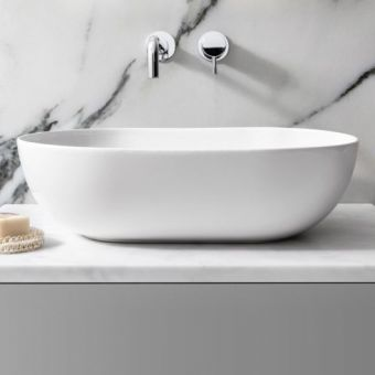 Bauhaus Toulouse Oval Countertop Wash Bowl