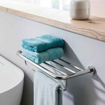 Crosswater Central 2 Tier Towel Rail