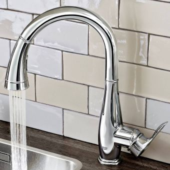 Grohe Parkfield Kitchen Sink Mixer with Pull Out Spray