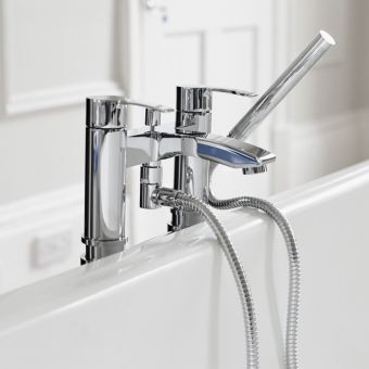 Britton Sapphire Floor Mounted Bath Shower Mixer