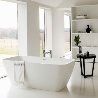 Clearwater Vicenza Piccolo Natural Stone Freestanding Bath