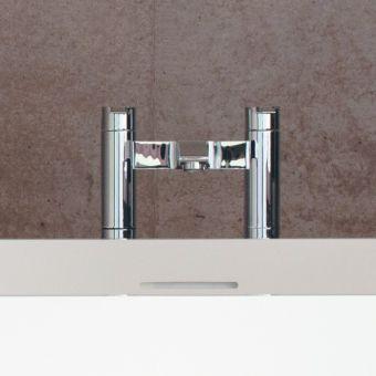 Britton Sapphire Floor Mounted Bath Filler - CTA15/W7