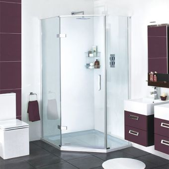 Aqata Spectra Quintet Hinged Door Shower Enclosure SP500